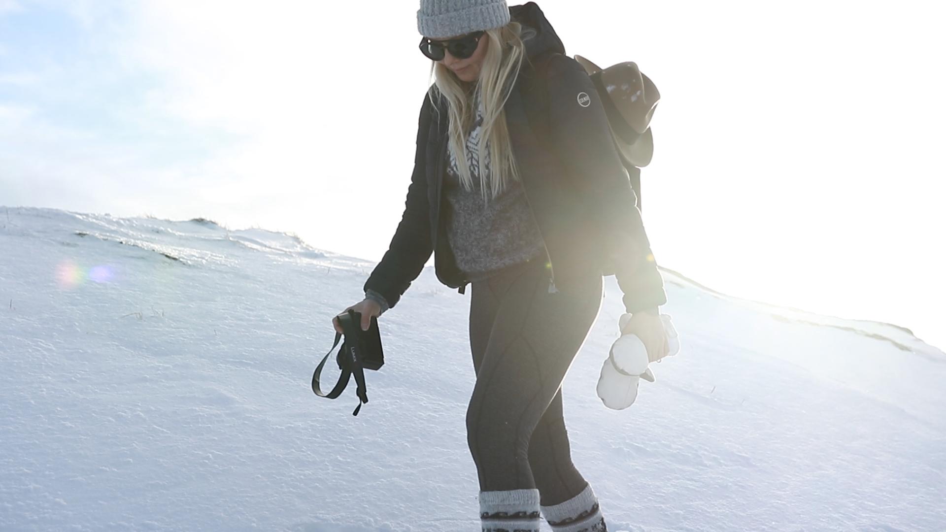 Lofootit talvella